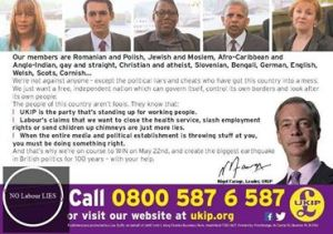 UKIP claim Labour is telling lies about their policies